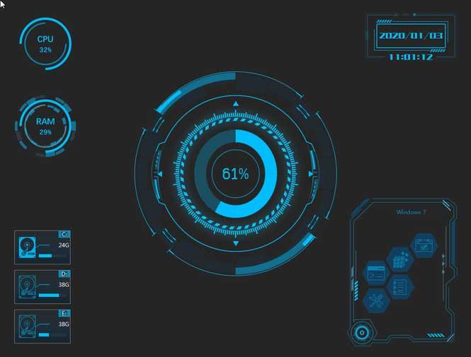 新萝卜家园Win7 SP1 64位极速体验装机版V2019.08 软件下载,预览图1